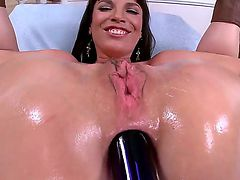 Dana De Armond with phat butt riding rock solid cock