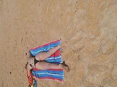 Candid Teen Nice Ass at the beach pt1