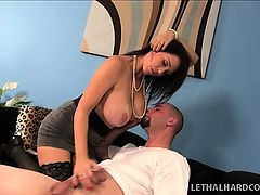 Daisy Summers catches her mom fucking her boyfriend and shares