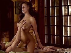 Crazy and romantic scene with a gentle girlfriend named Whitney Westgate