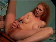 Hairy Natural Redhead Slut Annie Body Gets Fucked Hardcore Style