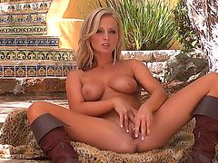 Melissa XoXo has a lot of sexual energy to spend and does it alone!