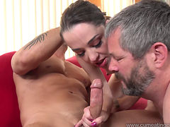 Nikki Fucks A Big Dick With A Help Of Her Hubby
