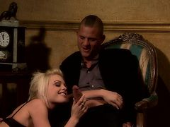 Jesse Jane loves giving head and getting hammered hard