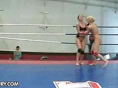 Nude Fight Club Presents: Mandi Dee vs. Tiffany Doll