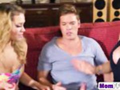 Busty Mom Rebecca More Helps Young Bitch Mia Malkova Achieve Ultimate Orgasm
